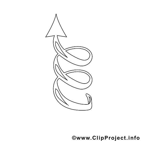 spiral bild zum ausmalen malvorlage ausmalbild