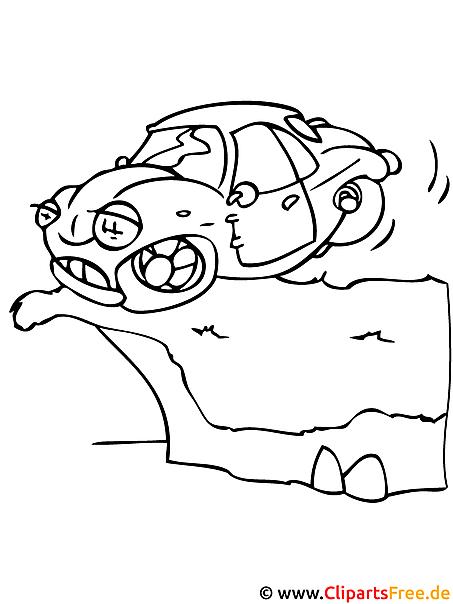 auto malvorlage  kostenlose malvorlagen fuer kinder