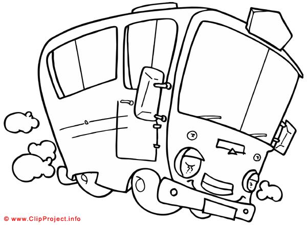 bus malvorlage gratis  autos malvorlagen