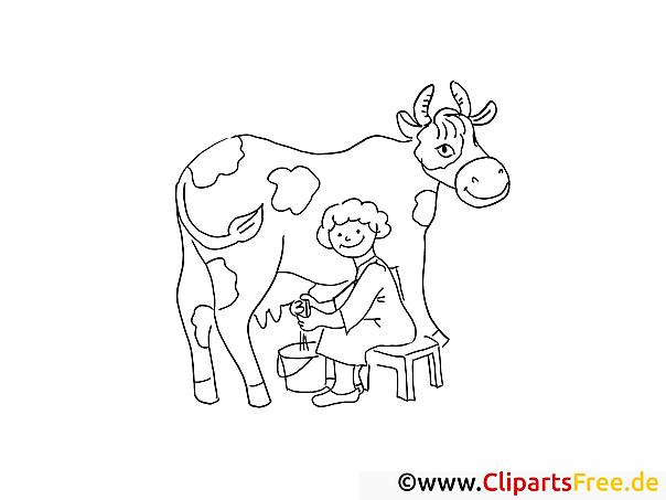 Bauernhoftiere Malvorlagen Kuehe