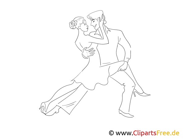 Free Dance Coloring Sheet