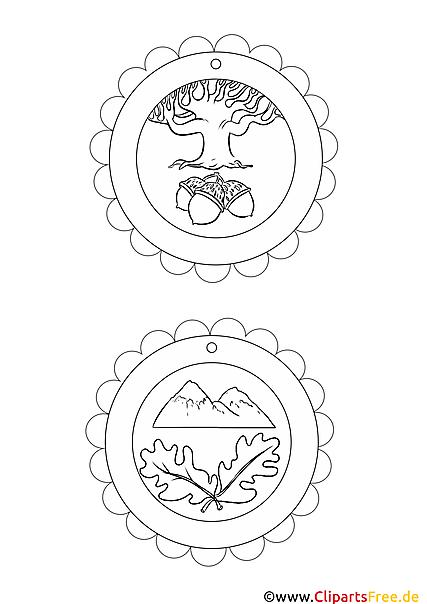 medaillen für kids kostenlos zum drucken