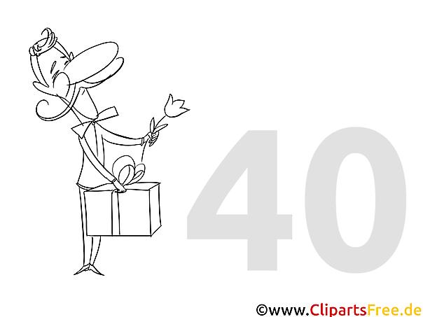 einladung zum 40 geburtstag selbst gestalten