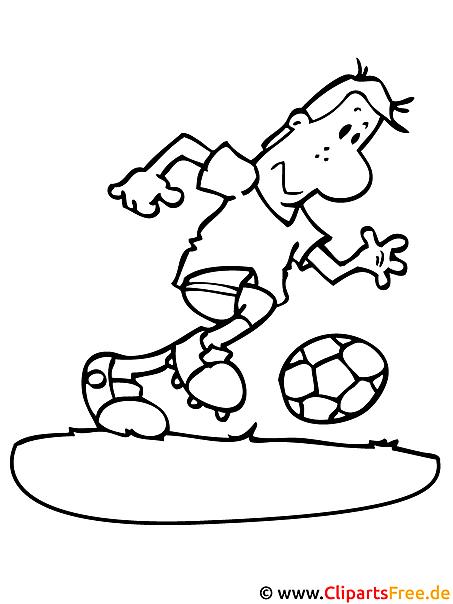 fussball malvorlage zum ausmalen  stuermer