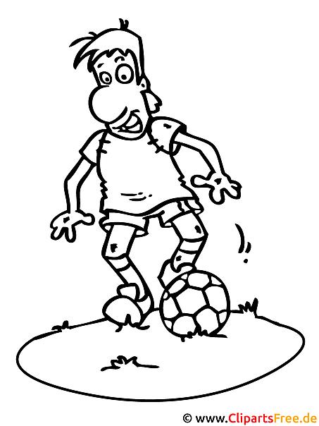 fussball malvorlage zum ausmalen