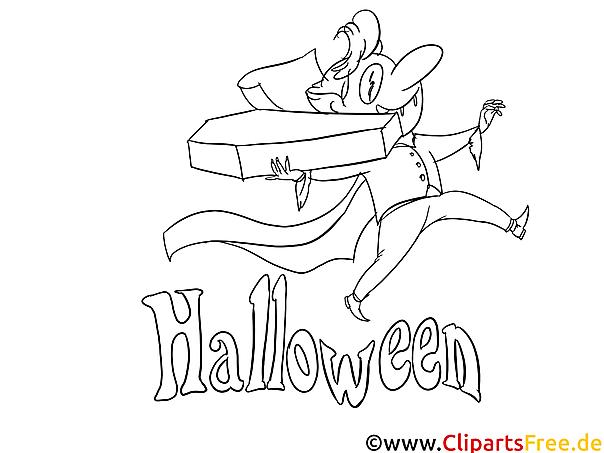 Bilder zum ausmalen Halloween