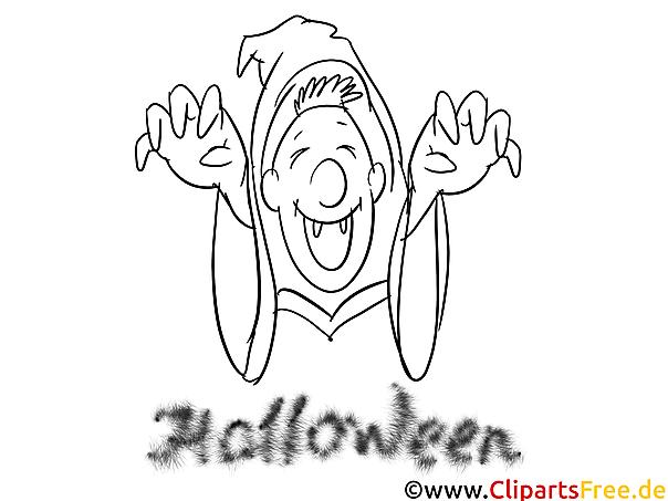 Halloween Bilder zum Malen
