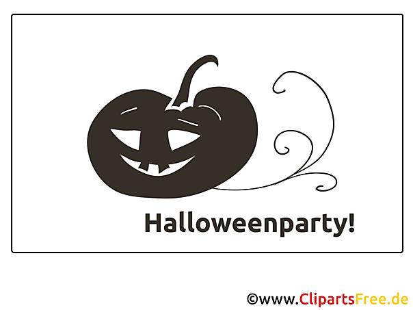 Kürbis Ausmalbilder zu Halloween