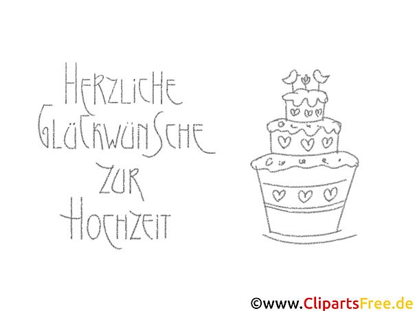 Torte Herz Malvorlagen-Glückwünsche zur Hochzeit