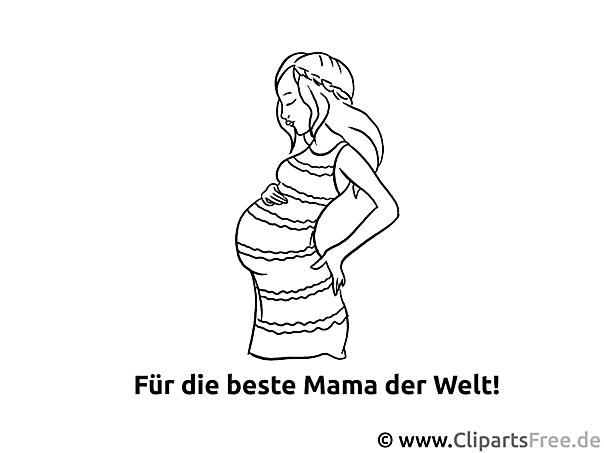 für beste mama ausmalvorlage malvorlage malbild gratis