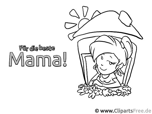 ausmalbilder für mama