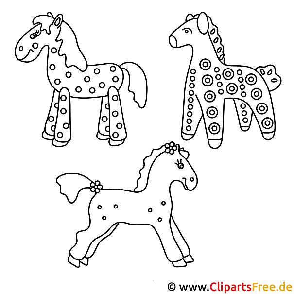 pferde malvorlagen kostenlos