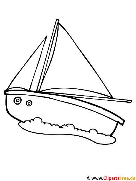 segelschiff fensterbild gratis