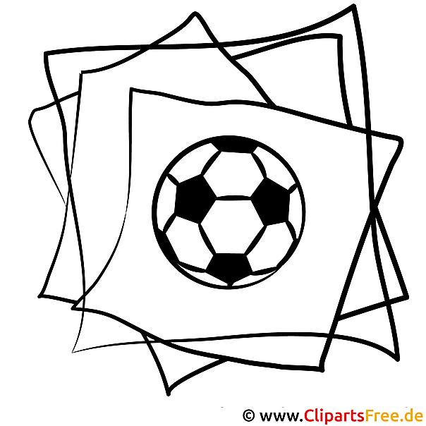 fussball ausmalbild zum ausmalen