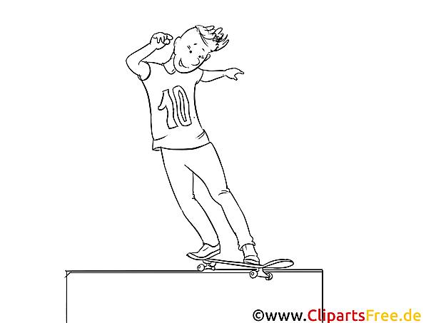 skateboard malvorlagen und kostenlose ausmalbilder