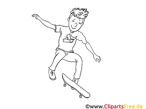 skateboard vorlagen für unterricht