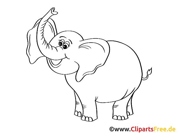 ausmalbilder elefanten  malvorlagen kostenlos zum ausdrucken