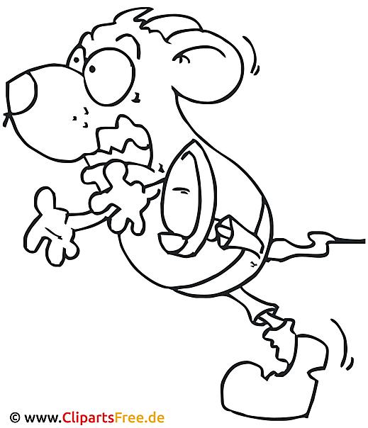 cartoon maus malvorlage gratis