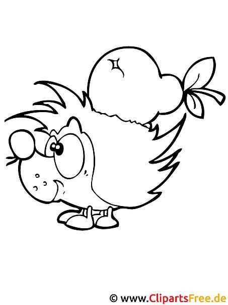 malvorlagen gratis tiere igel | kinder ausmalbilder