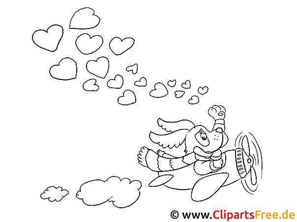 im himmel valentinstag bilder zum ausmalen