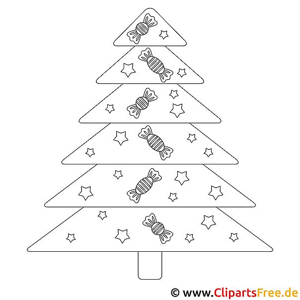 gratis window colour vorlage weihnachtsbaum