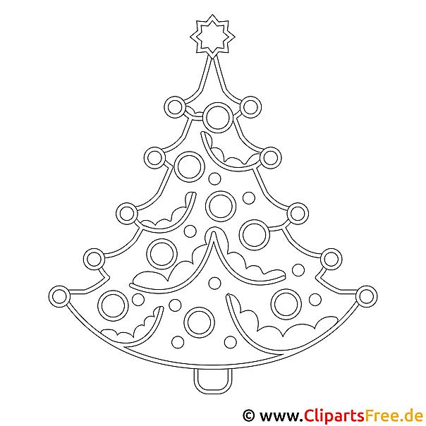 tannenbaum silvester und neujahr malvorlagen kostenlos