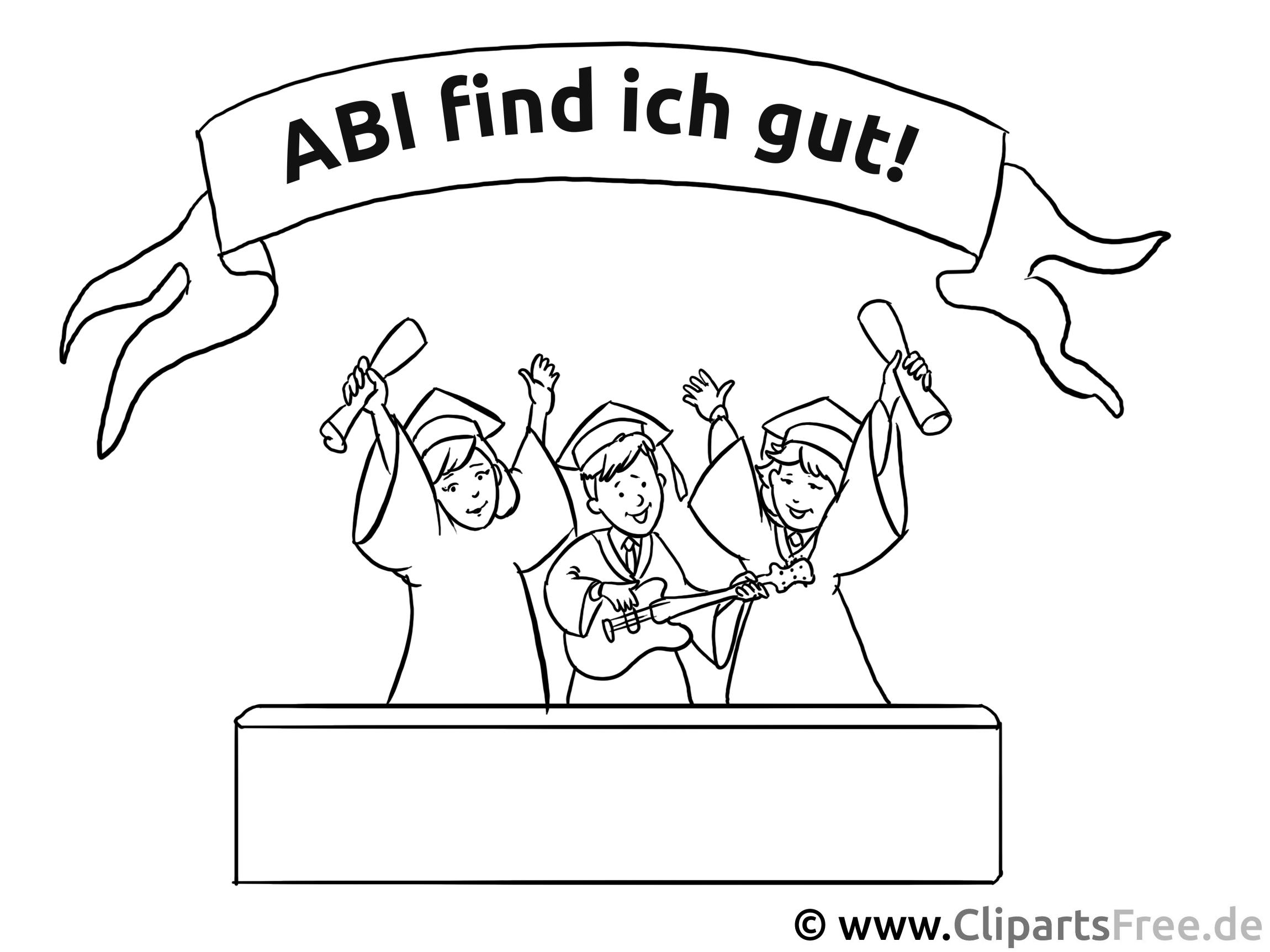 Illustration Abizeitung
