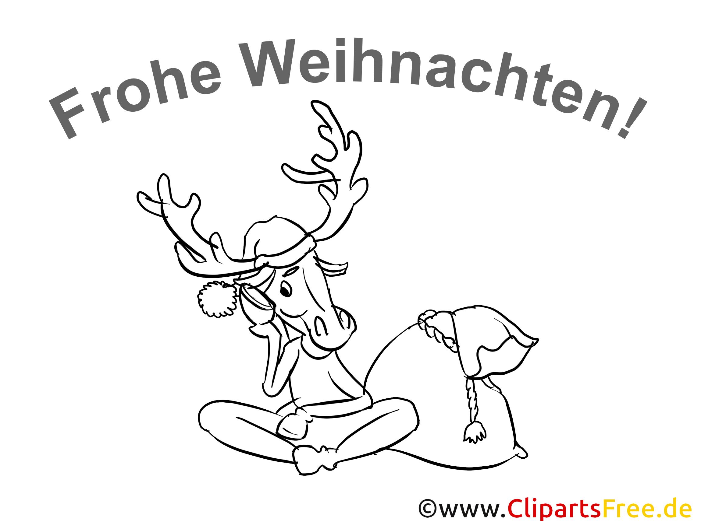 frohe weihnachten ausmalbilder gratis