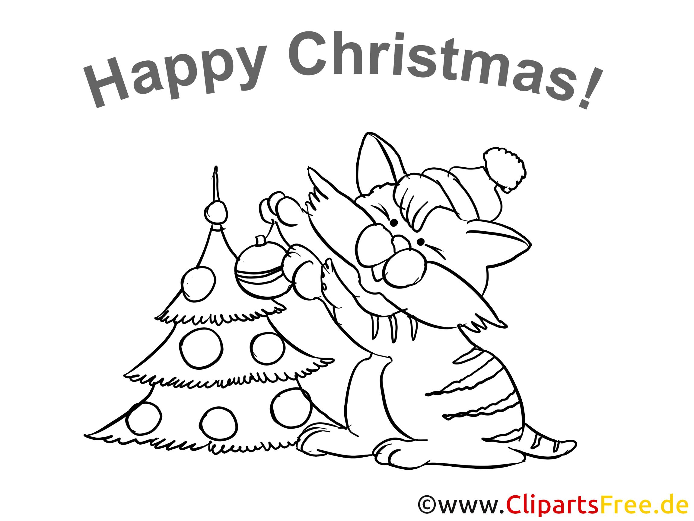 Happy Christmas Colouring Sheet free