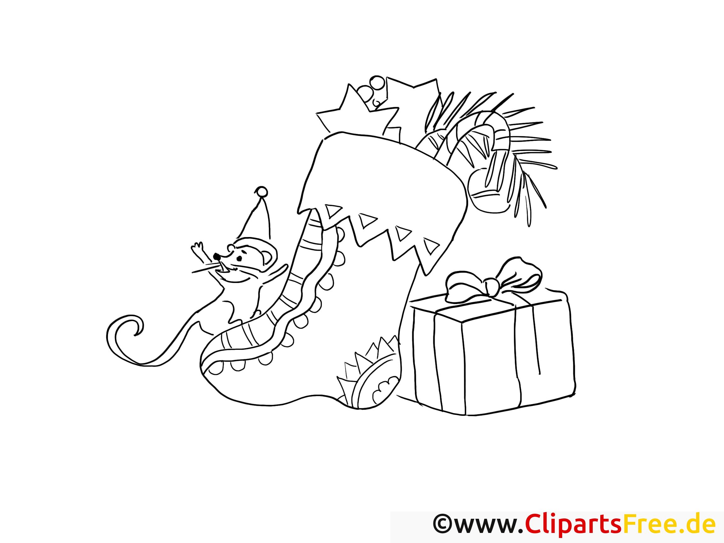 maus will geschenke vom nikolaus malvorlage gratis