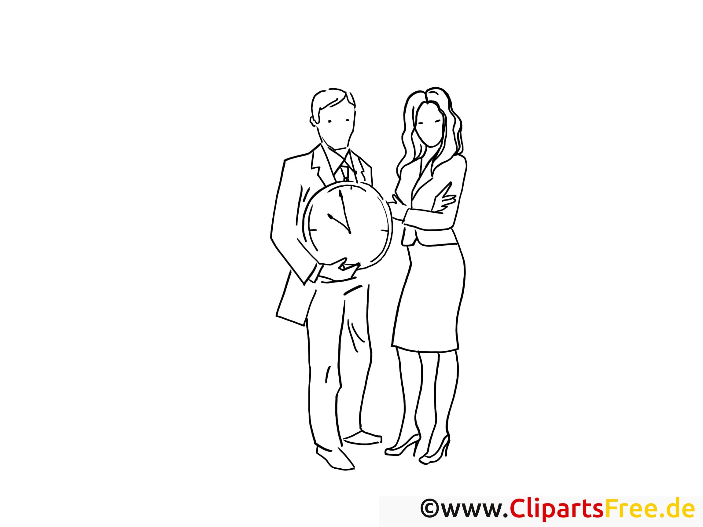 Mann und Frau - Bilder zum Drucken und Ausmalen