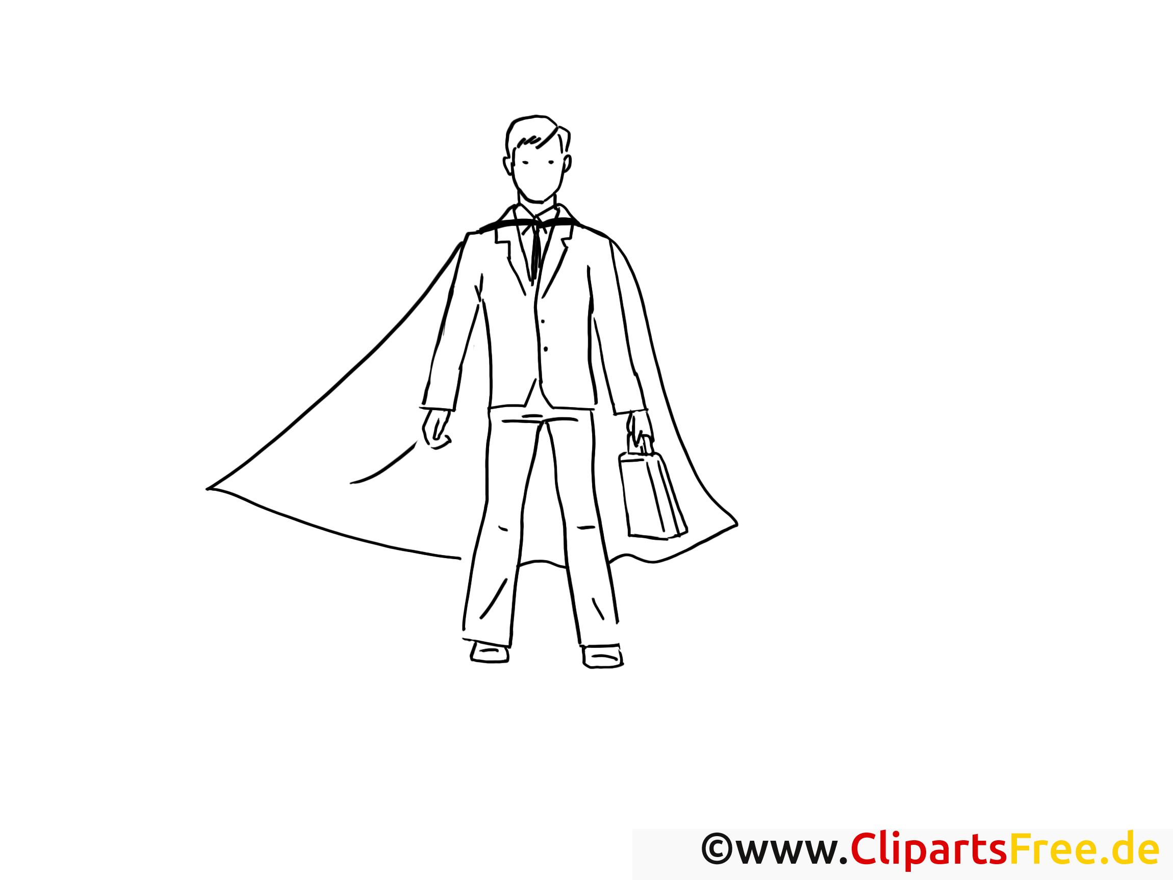 Super Man Malvorlage - Bilder zum Ausdrucken