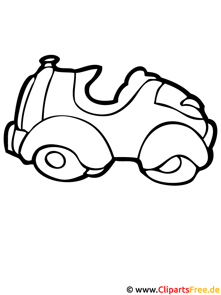 Ausmalbild Personenkraftwagen
