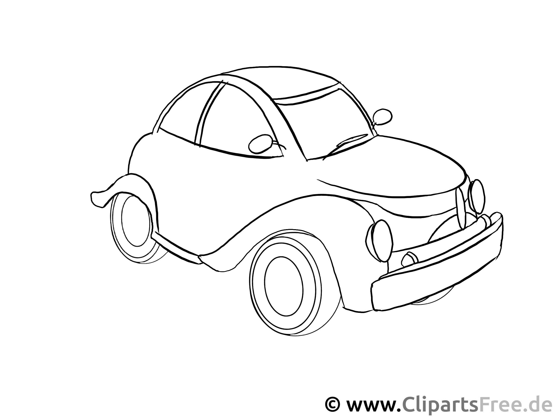 Cars Ausmalbilder