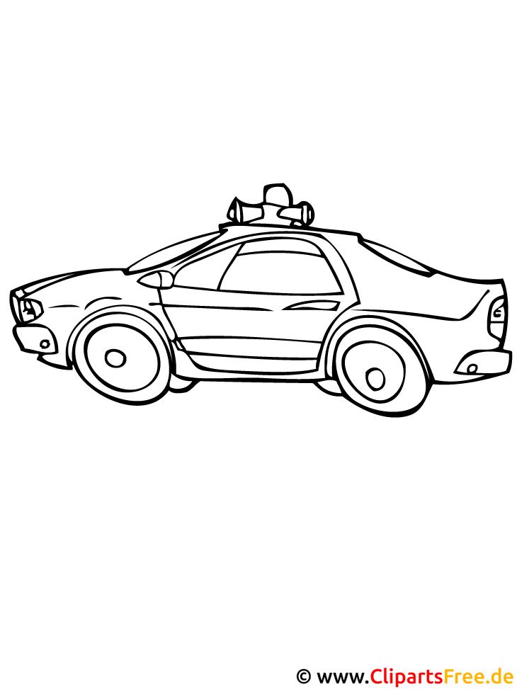 Feuerwehrauto Malvorlage gratis - Autos Malvorlagen