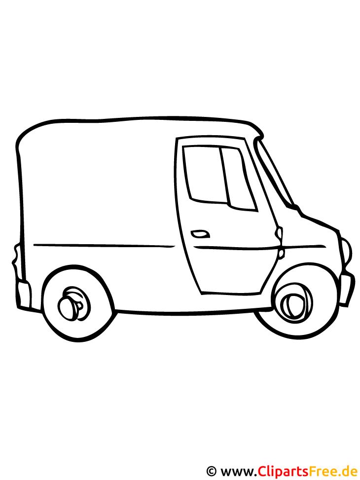 PKW Malvorlage kostenlos - Autos Malvorlagen