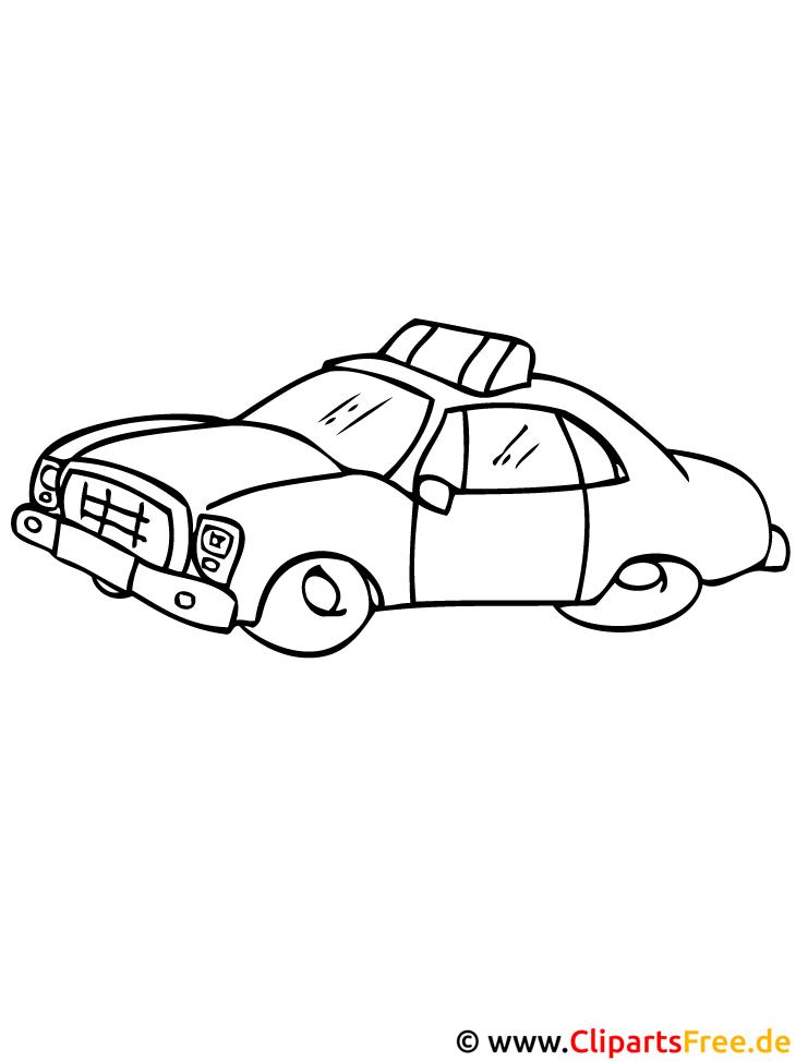 Taxi Ausmalbild - Autos Ausmalbilder