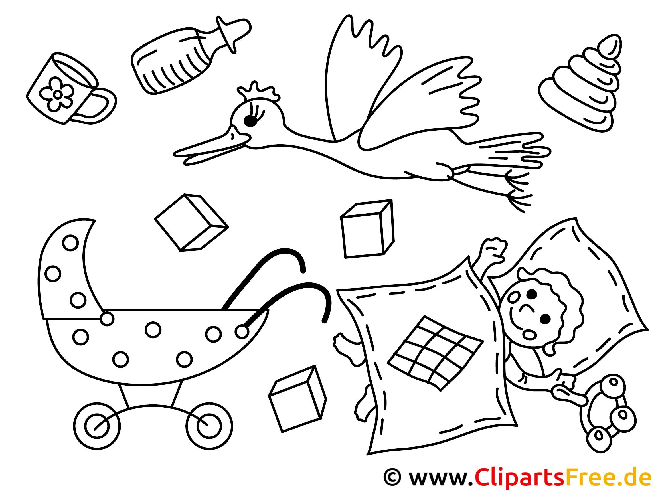 Ausdruck Bilder zum Ausmalen Kindergarten, Kinder