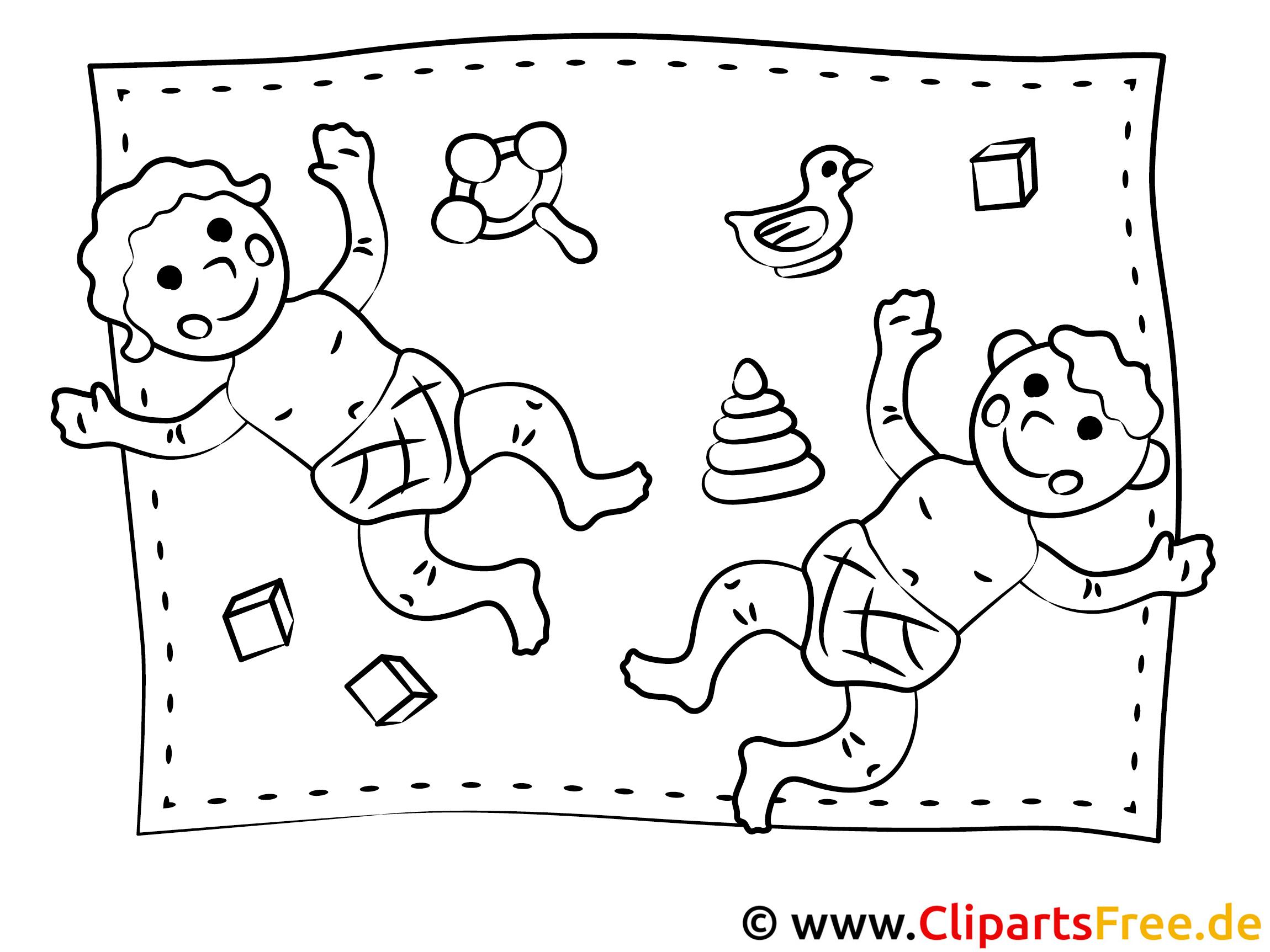 kinder spielen  kindergarten bilder malvorlagen