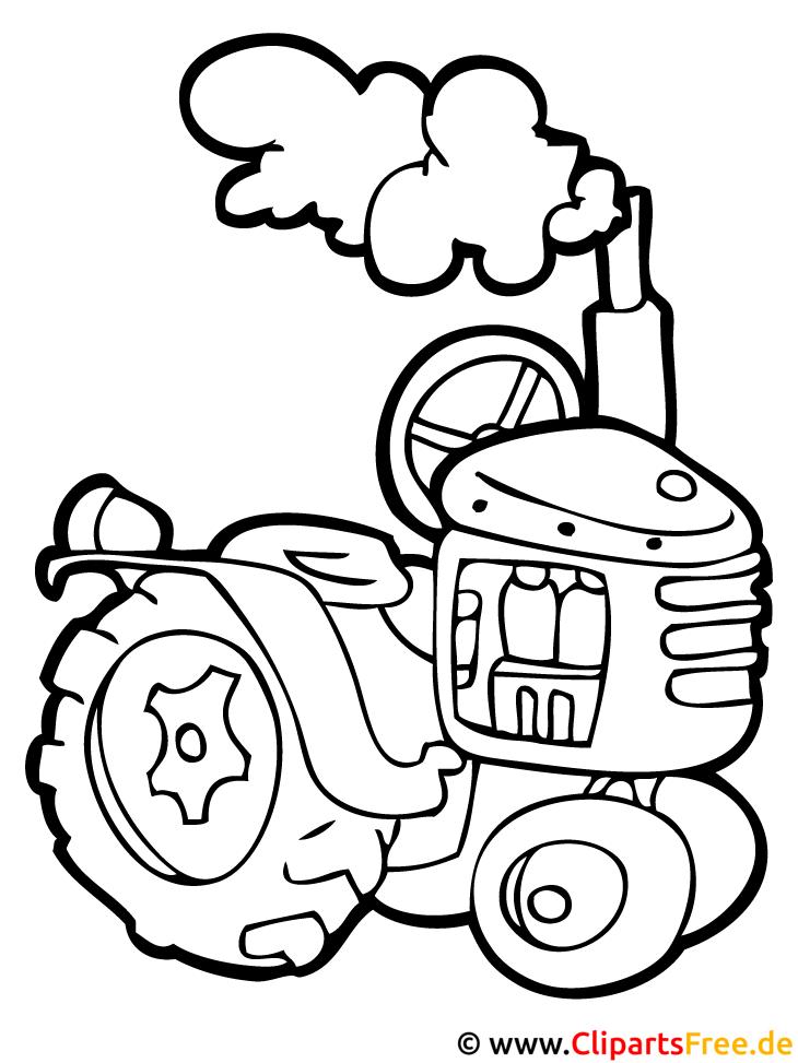 Traktor Malbuch kostenlos