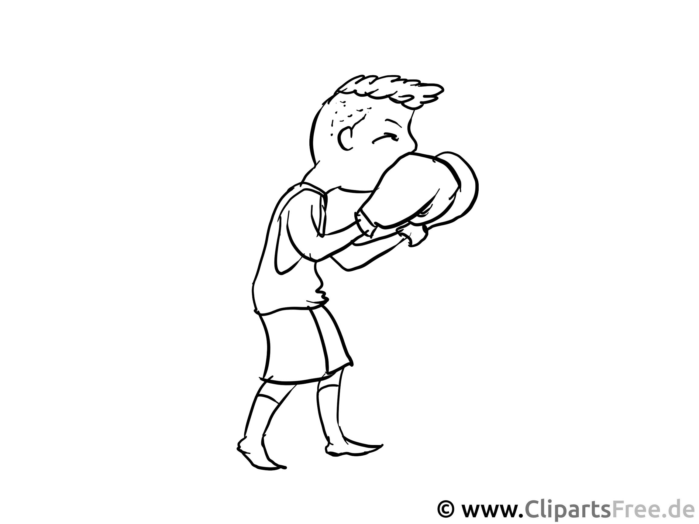 Boxer - Beruf Ausmalbilder und Malvorlagen