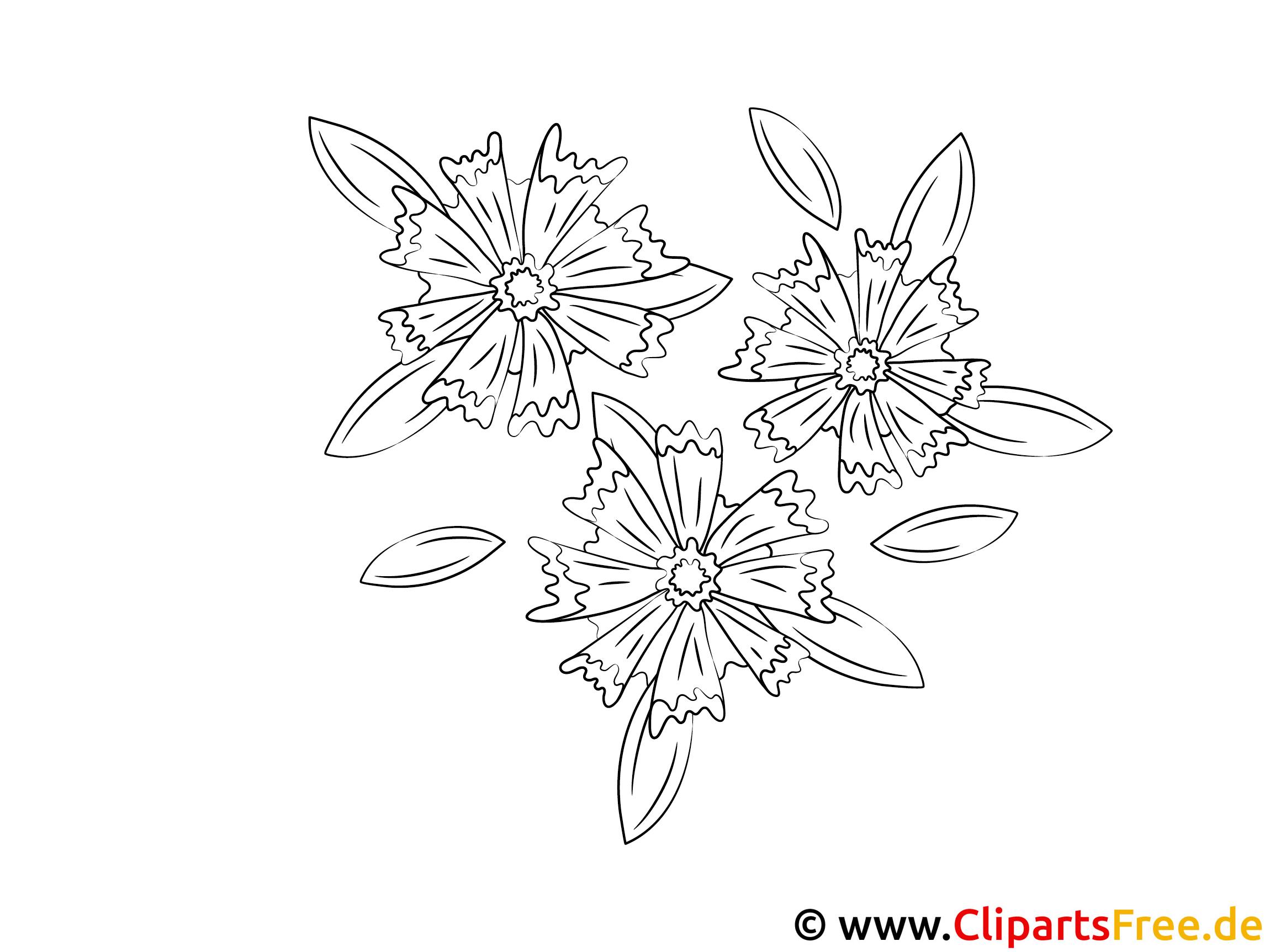 Ausmalbilder Window Color mit Blumen