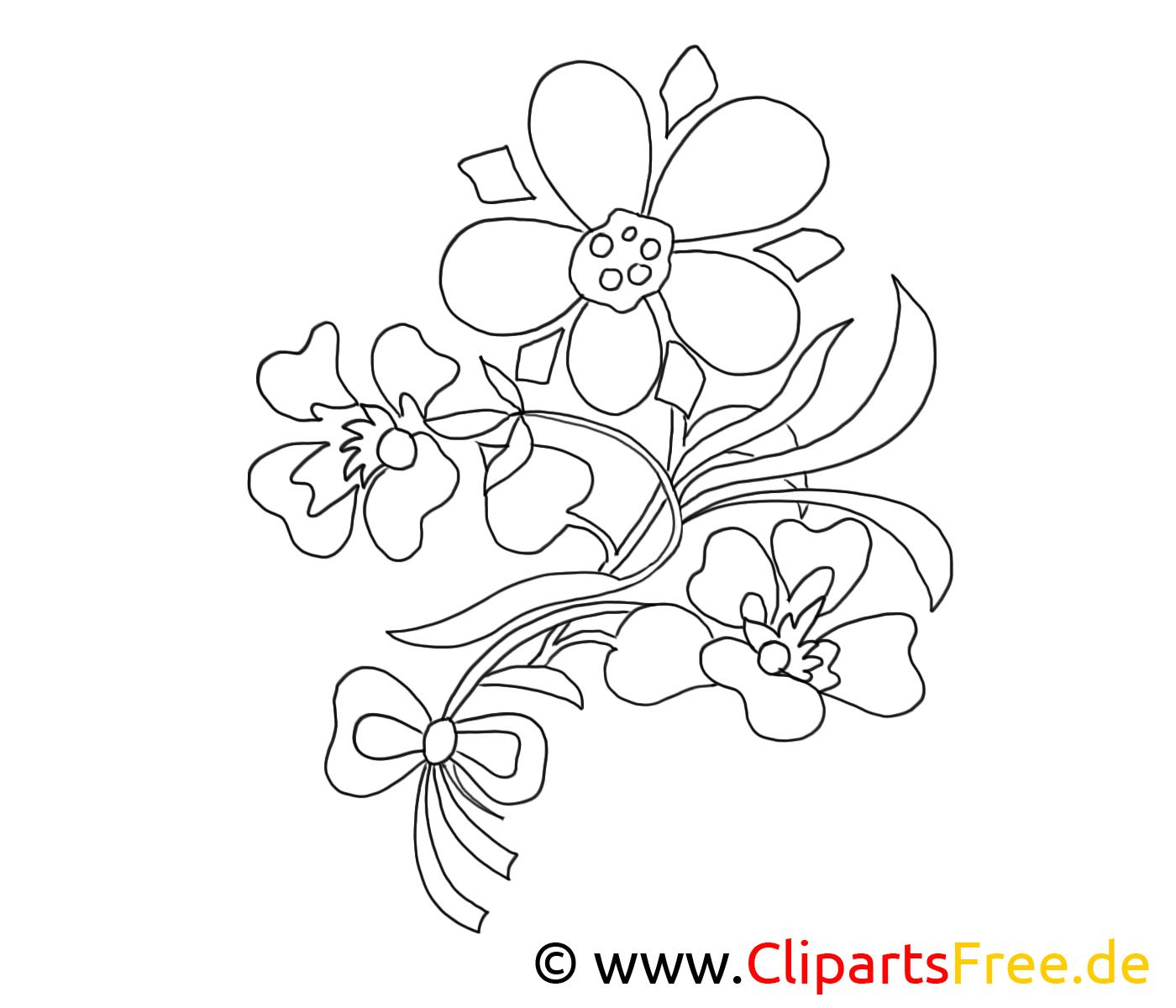 malvorlagen blumen und blüten kostenlos