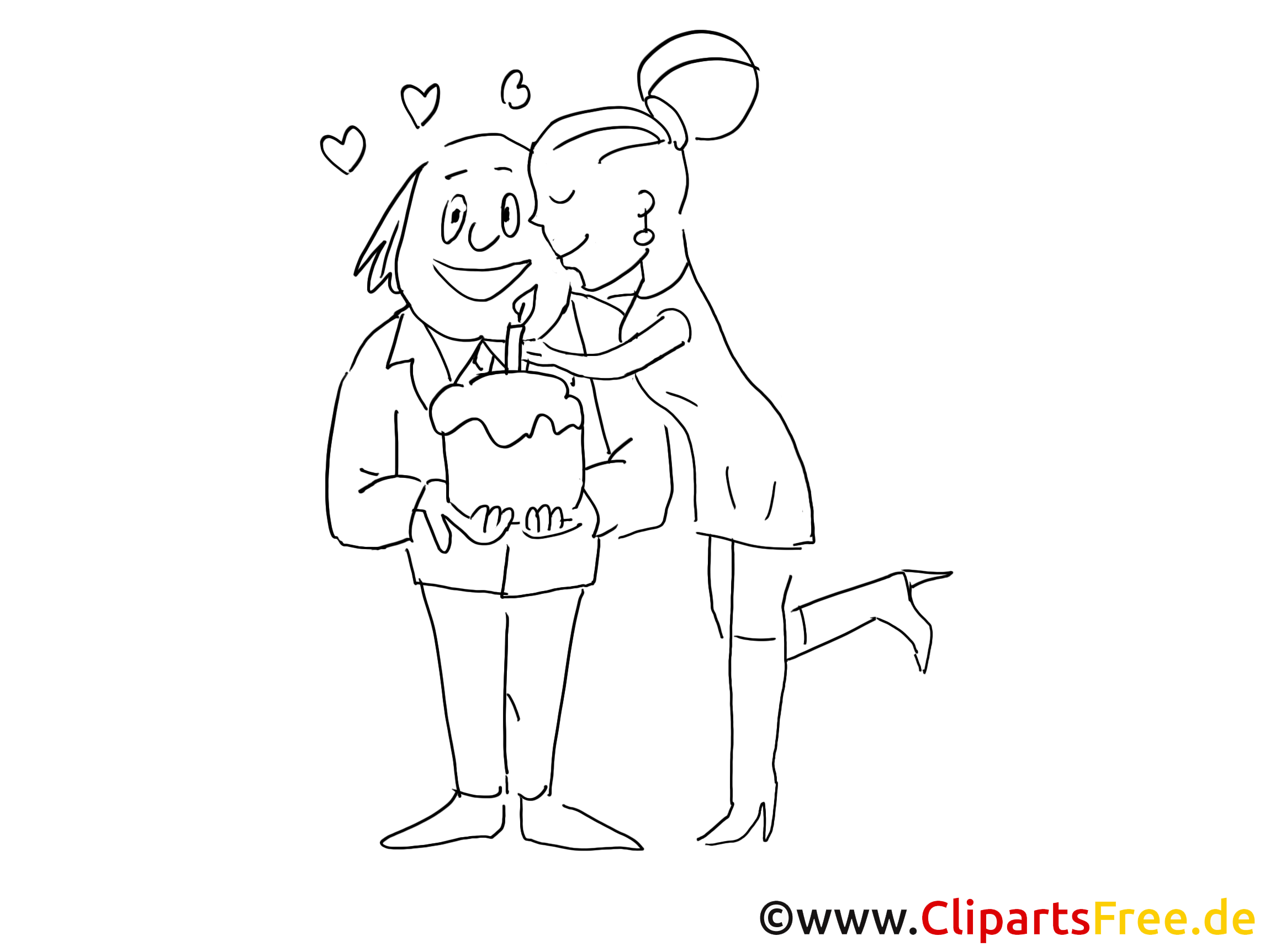 Date picture for coloring