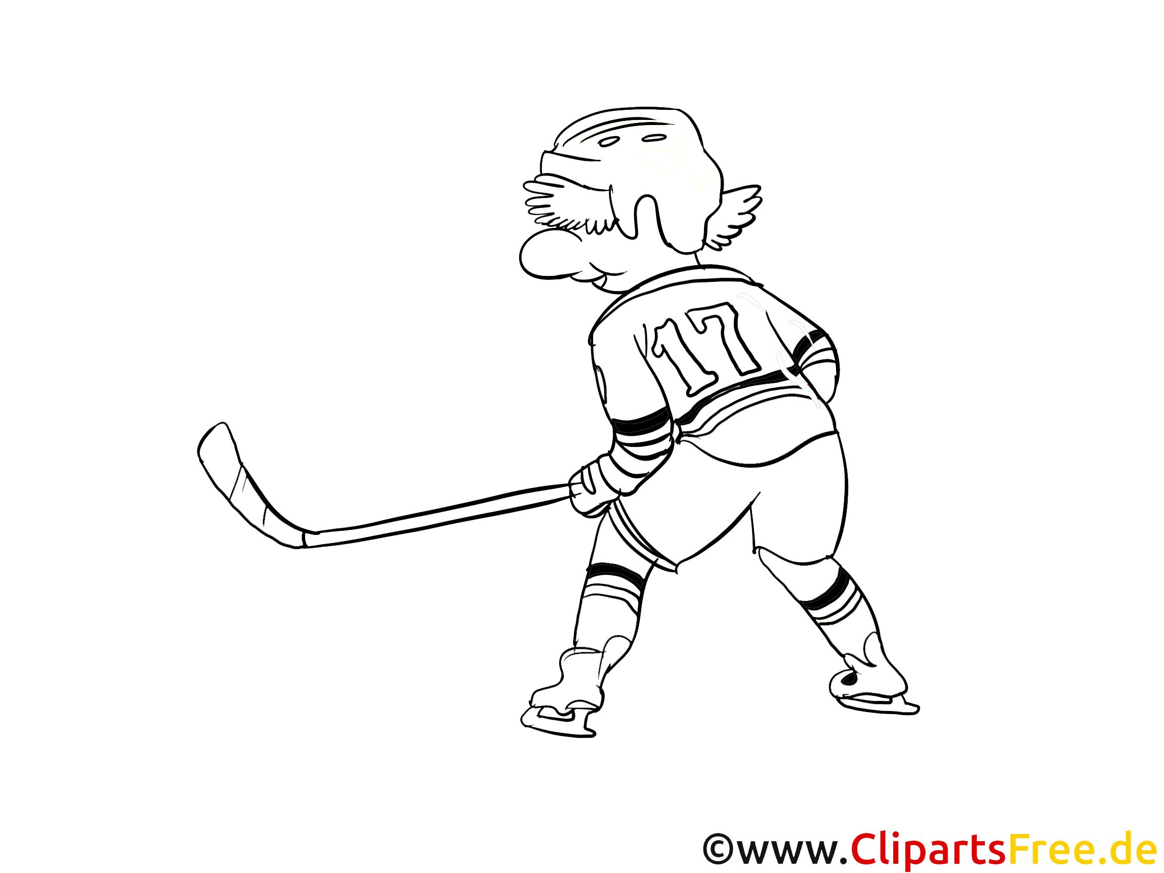 eishockey malvorlage