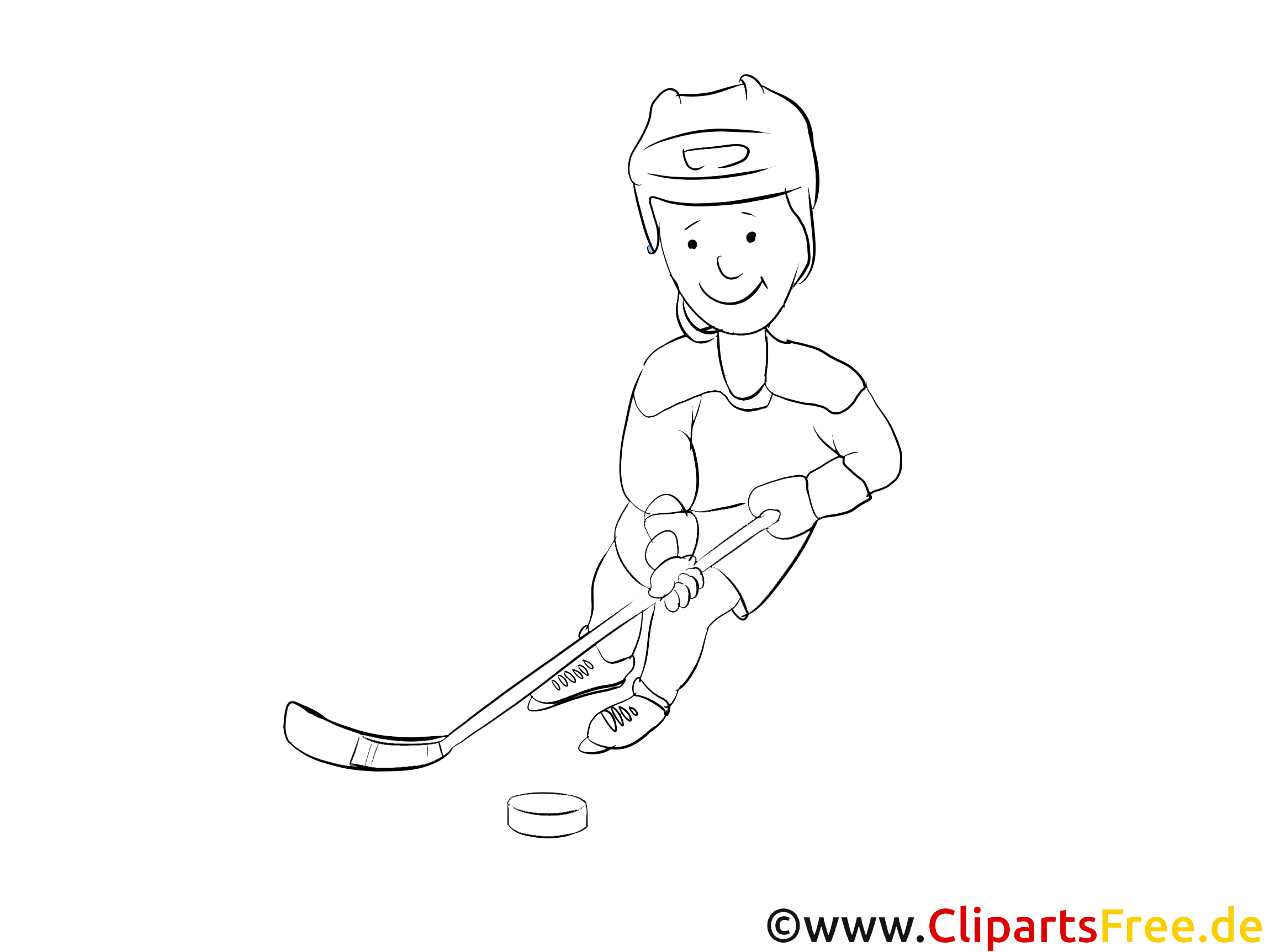 Eishockey WM Malvorlage Winter-Sport