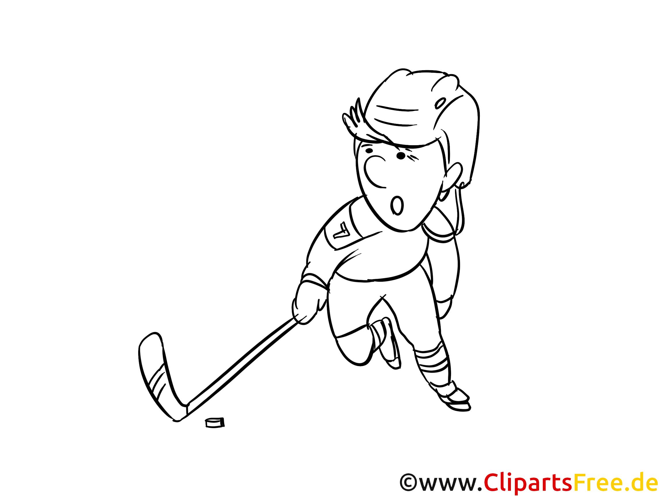 mal bilder ausdrucken zum thema wintersport eishockey
