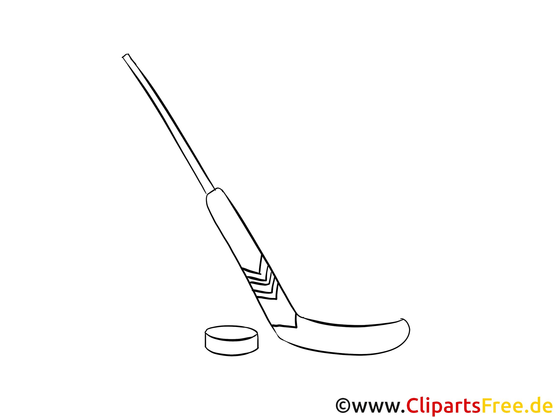 puk und schläger eishockey wm bild zum ausmalen
