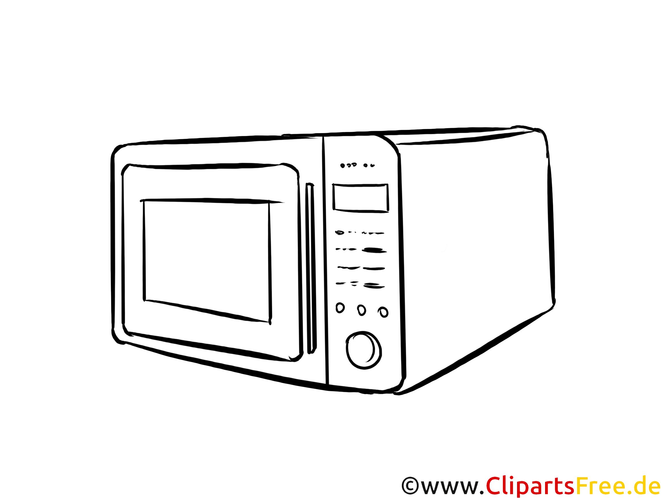 malbild mikrowelle kostenlos