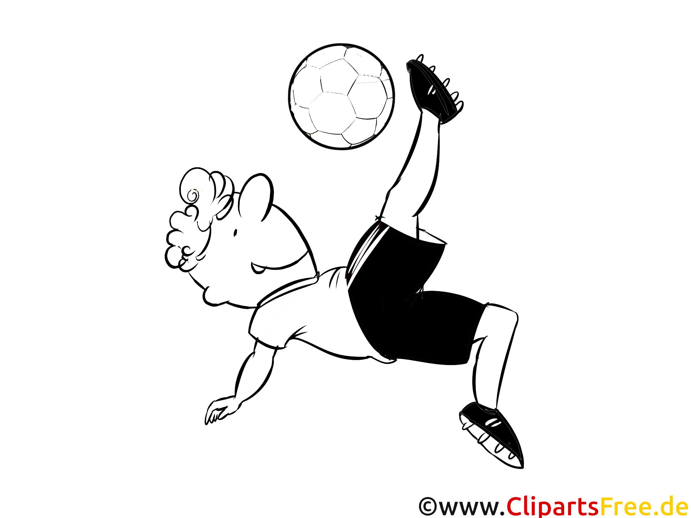 ausmalbild kostenlos fussball